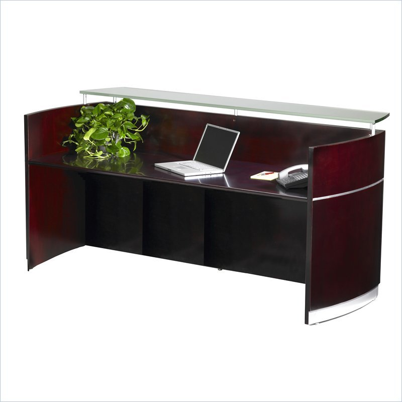 Mayline Napoli Reception Desk | MacBride Office Furniture